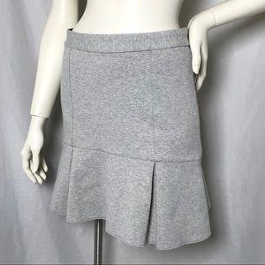 Madewell Atelier Pleated Flared A-Line Skirt Sz 4